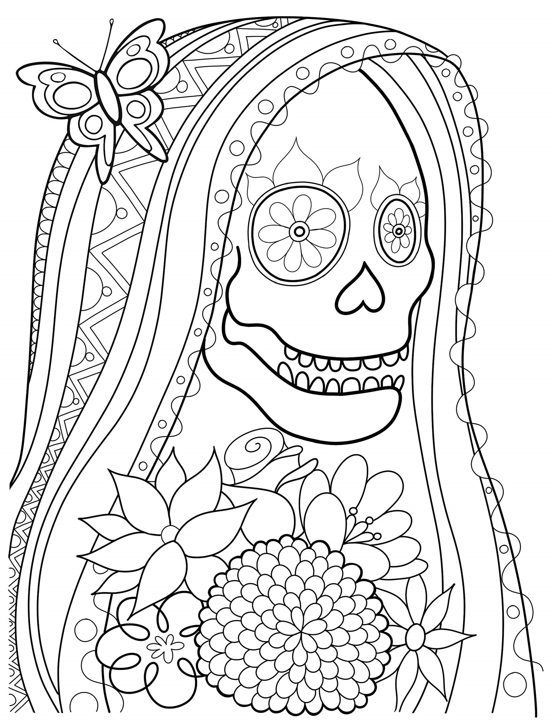Corpse bride - Coloring pages for you
