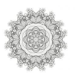 Mandala summer motifs