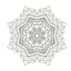 Mandala sheets