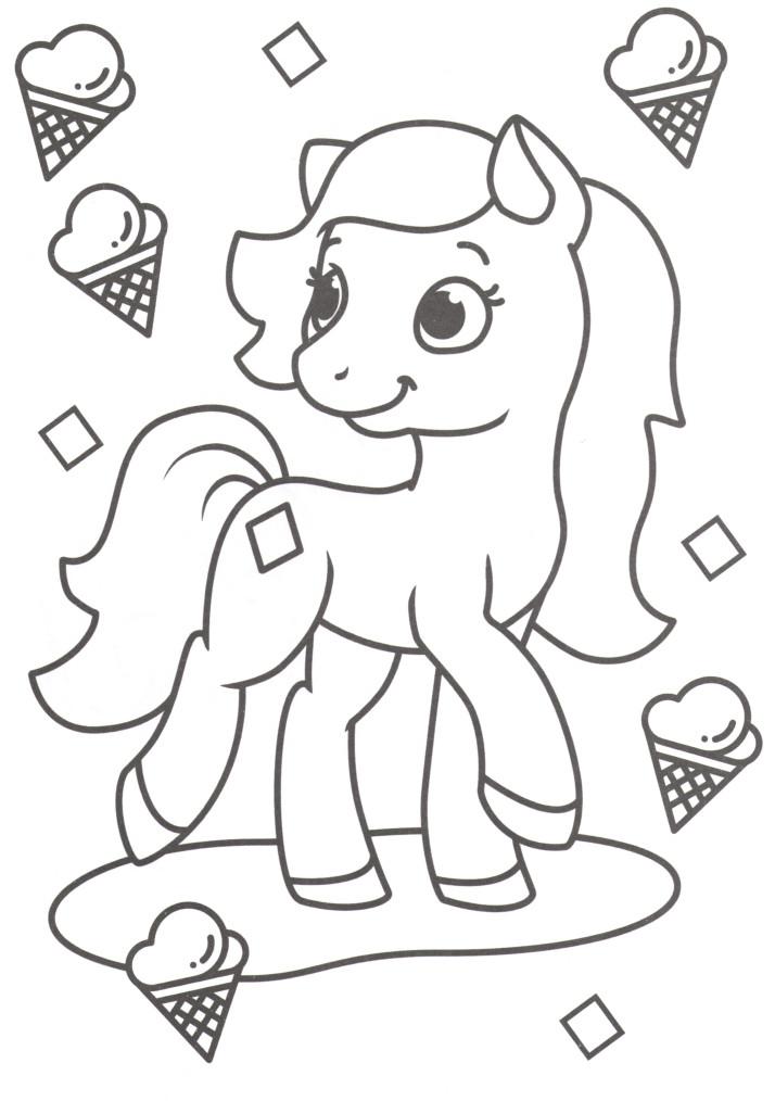 Ponies and ice cream