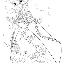 Anna freezes