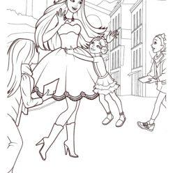 Barbie actress with children
