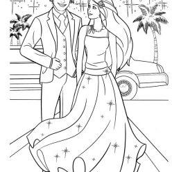 Wedding Barbie and Ken