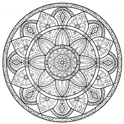 Mandala of Boundless love and happiness