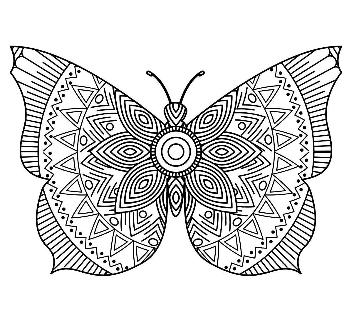 Art therapy butterfly
