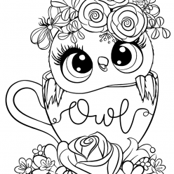 Owl in the Cup