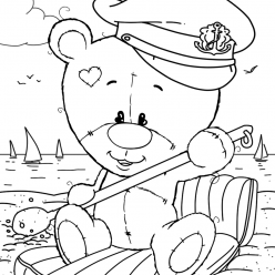 Teddy bear sailor