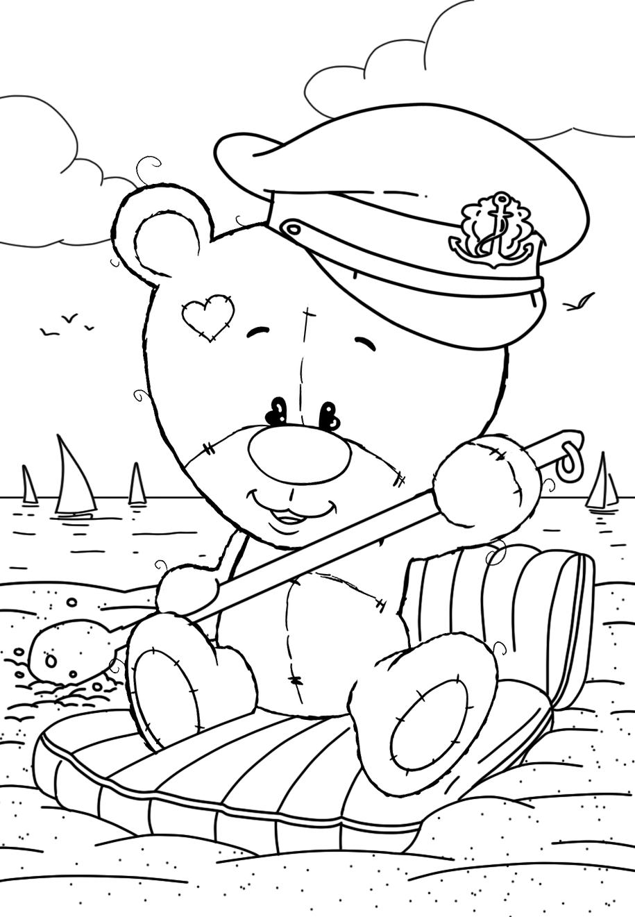 Teddy bear sailor