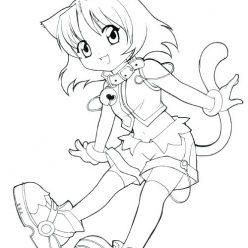 Girl kitty