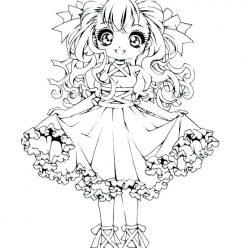 Dressy girl schoolgirl
