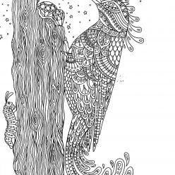 Woodpecker and gems