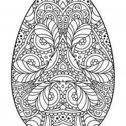 Egg pattern for Easter