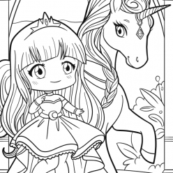 Unicorn Princess anime