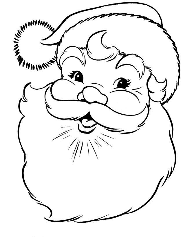Head Of Santa Claus