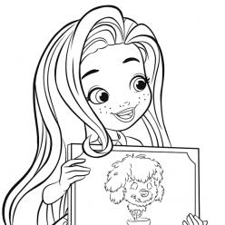 Doll hairdresser for wood