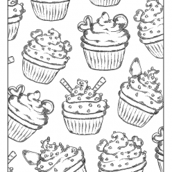 Cupcakes with cream