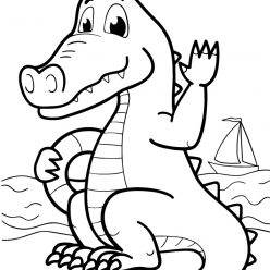 The crocodile of the sea