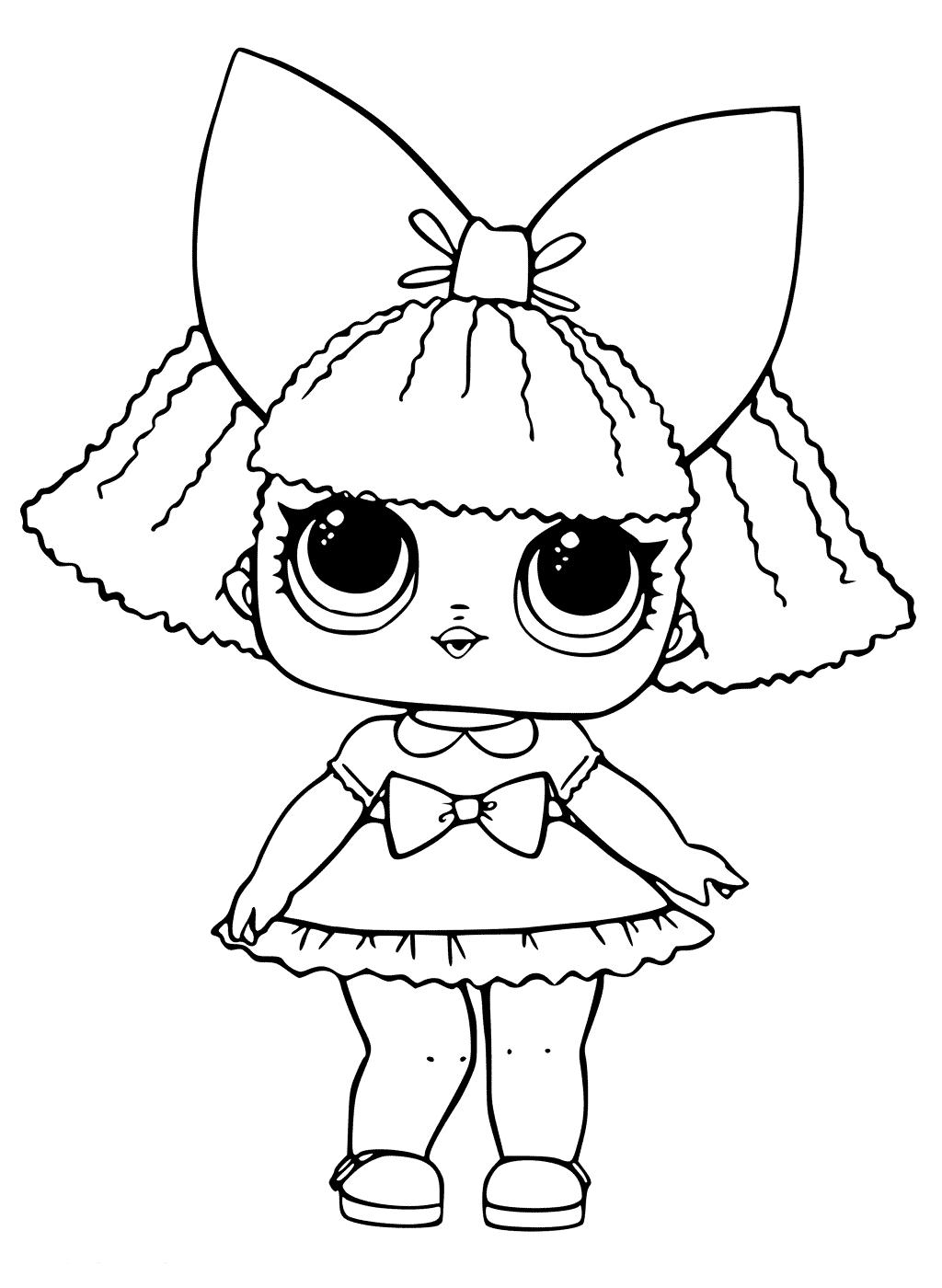 Doll LOL Queen sequin
