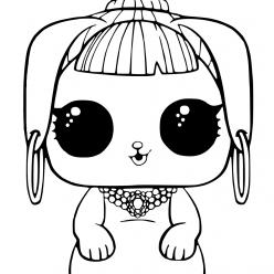 LOL doll pet Bunny beauty