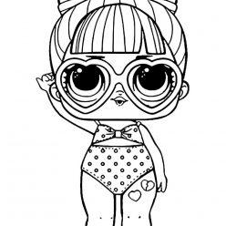 Doll LOL SPF QT Tan