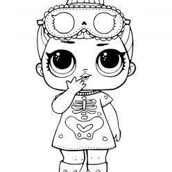 Doll LOL confetti sleepy bones