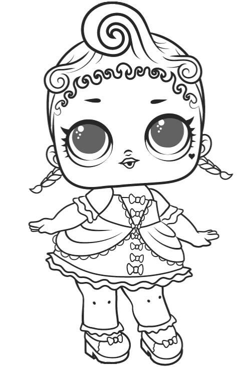 Doll LOL Royal high-1 series