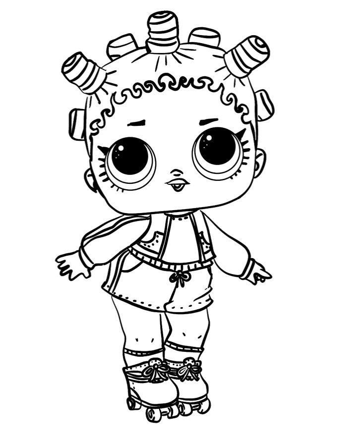 Doll LOL 1 series roller