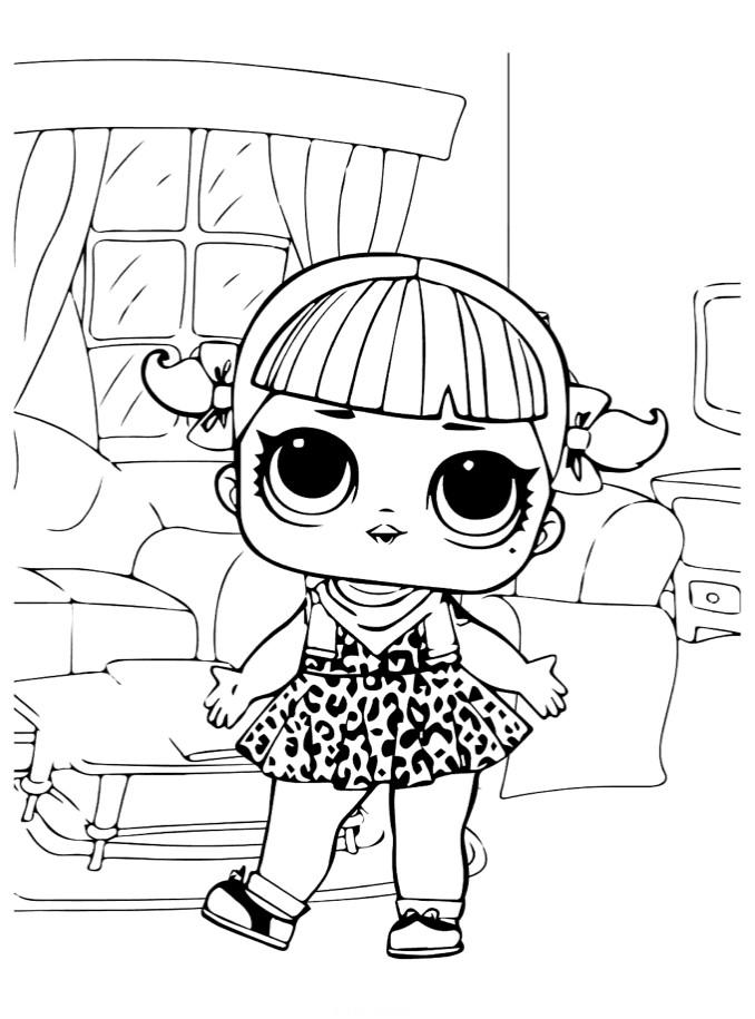 Doll LOL cherry club retro