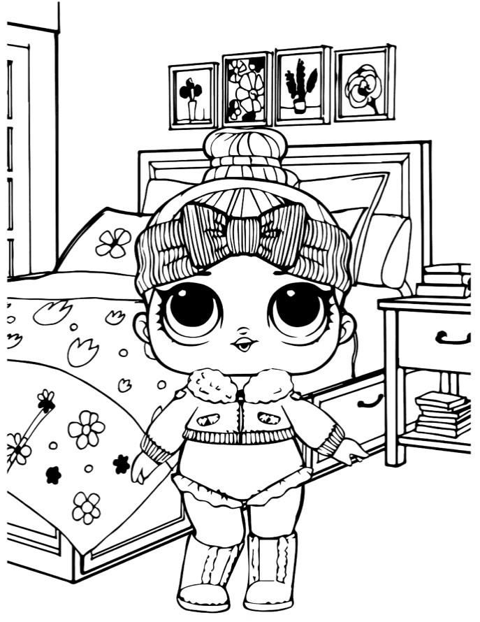Doll LOL 2 series cozy baby