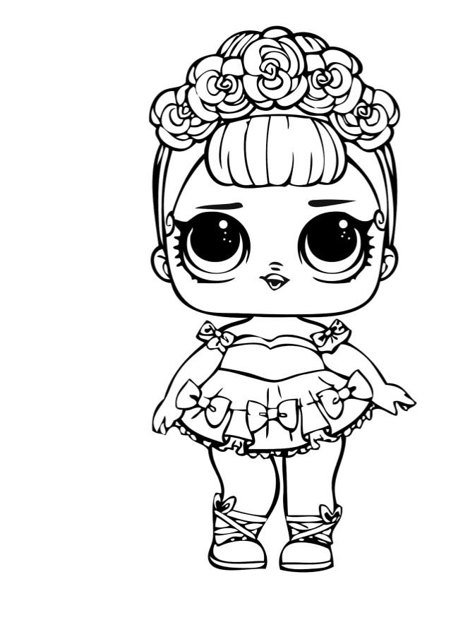 Doll LOL sugar Queen