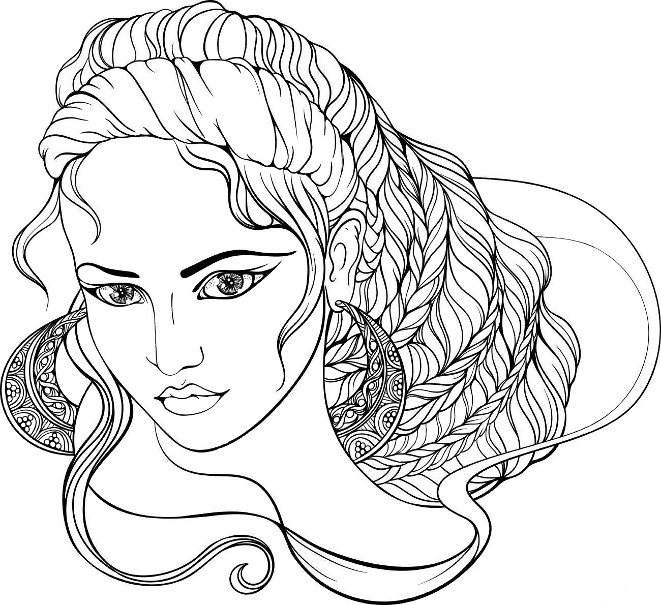 Greek goddess - Coloring pages for you