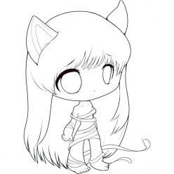 Girl with ears