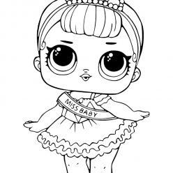 Doll LOL miss baby