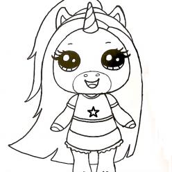 Popsy unicorn