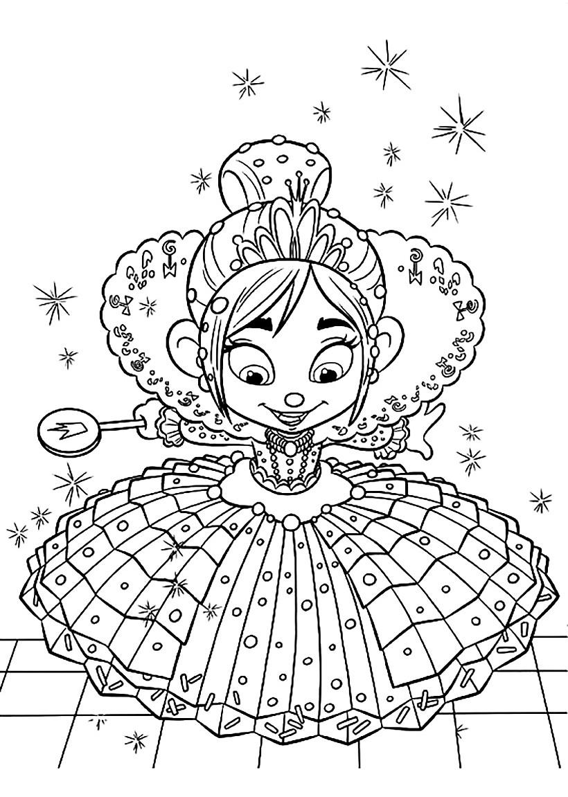 Princess Vanellope von Cupcake