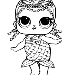 Doll mermaid LOL