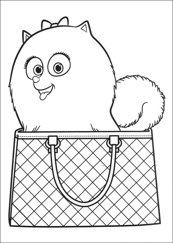 Dog, Gidget purse