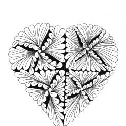 Heart fan