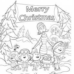 Koski sing songs for Christmas