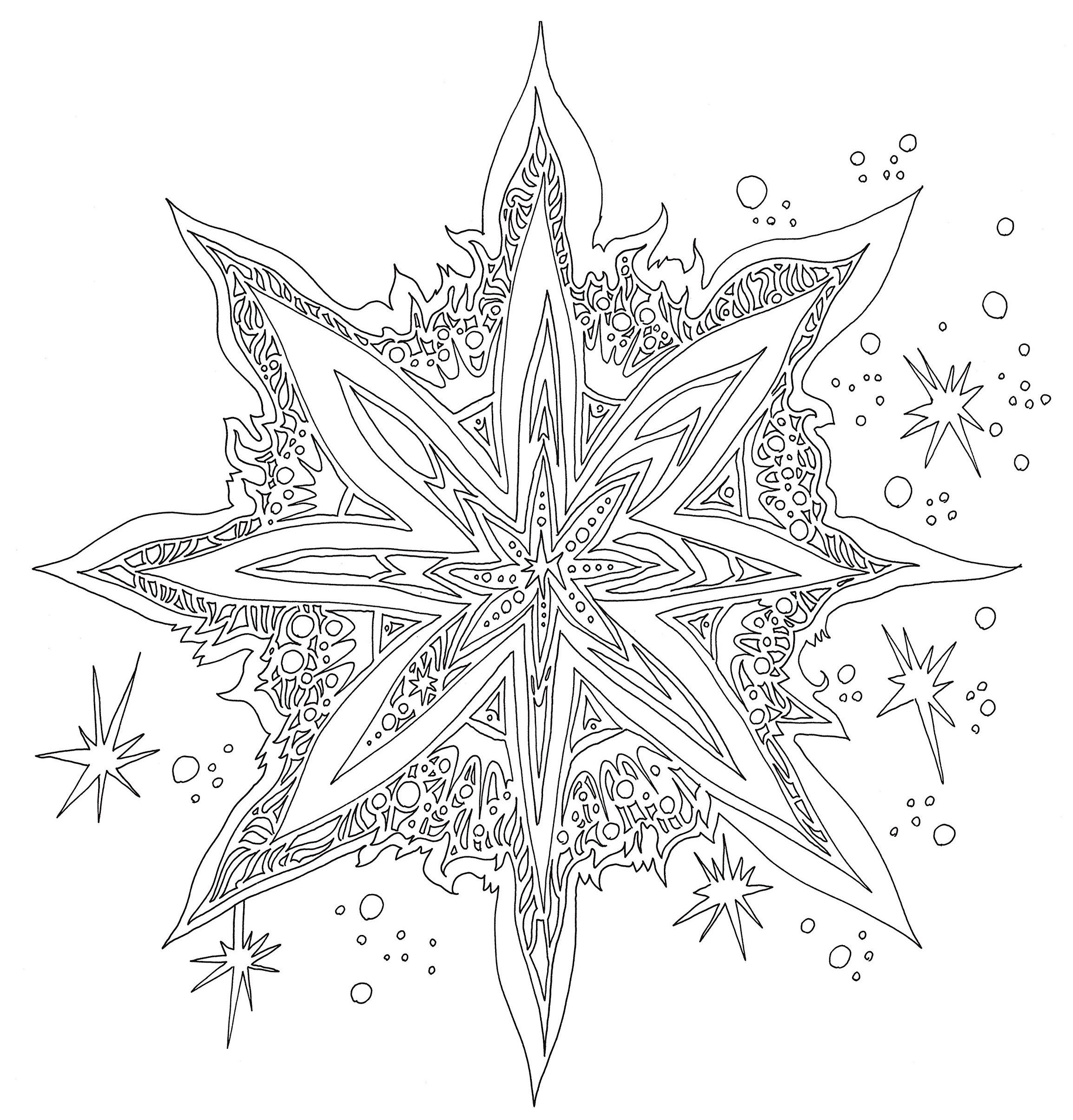Snowflake Icicle