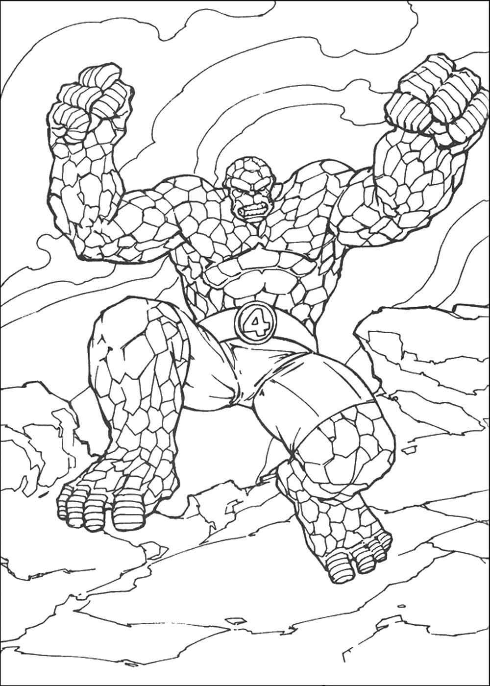Creature from the fantastic four