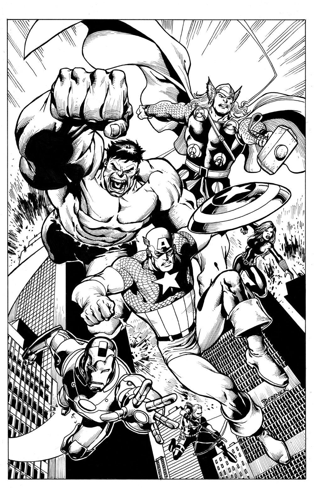 Avengers finale