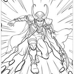 Loki Loki from Avengers marvel