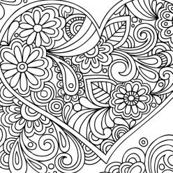 Patterns heart