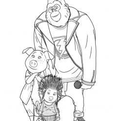 Johnny, ash and Rosita